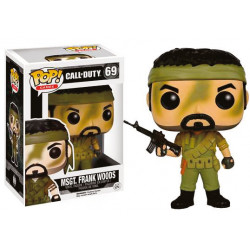 Call of Duty POP! Games Vinyl Figura MSgt. Frank Woods 9 cm