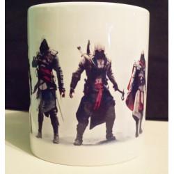 Taza Assasin's Creed Personajes de la Saga