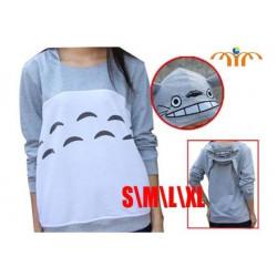 Sudadera Totoro orejitas en la capucha