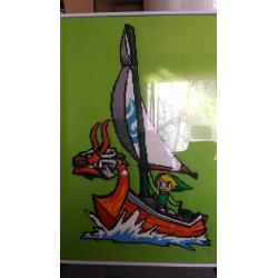 Cuadro de Hama Mini The Legend Of Zelda Wind Waker