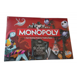 Nightmare before Christmas Board Game Monopoly *English Version*