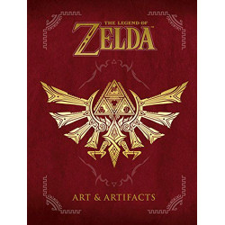 The Legend of Zelda Book Art & Artifacts