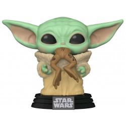 Star Wars The Mandalorian Funko POP TV Vinyl Figura The Child w/ Frog / Baby Yoda9 cm