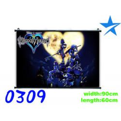 Poster tela Kingdom Hearts