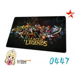 Deskpad Alfombrilla Ratón League of Legends Mousepad XL tapete LOL
